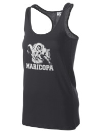 The Maricopa High School Rams District Threads Racerback Tank is semi-fitted for a flattering look and perfect for layering. Racerback detail lends casual, athletic style.