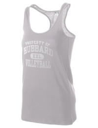 The Hubbard High School Greyhounds District Threads Racerback Tank is semi-fitted for a flattering look and perfect for layering. Racerback detail lends casual, athletic style.