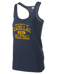The Cadillac High School Vikings District Threads Racerback Tank is semi-fitted for a flattering look and perfect for layering. Racerback detail lends casual, athletic style.