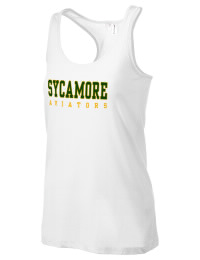 The Sycamore High School Aviators District Threads Racerback Tank is semi-fitted for a flattering look and perfect for layering. Racerback detail lends casual, athletic style.