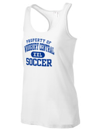 The Woodbury Central School Wildcats District Threads Racerback Tank is semi-fitted for a flattering look and perfect for layering. Racerback detail lends casual, athletic style.