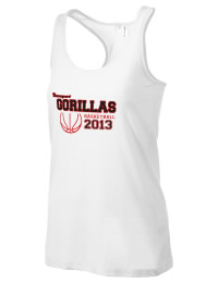 The Davenport Elementary School Gorillas District Threads Racerback Tank is semi-fitted for a flattering look and perfect for layering. Racerback detail lends casual, athletic style.