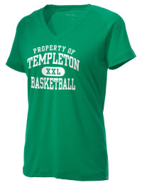 The Ladies Ultimate Performance V-Neck Templeton Elementary School Eagles tee is perfect for your active lifestyle.  The V-neck performance t-shirt is made with moisture wicking fabric and has a soft, cotton-like feel. This layerable Templeton Elementary School Eagles V-neck tee is sure to become a favorite on and off the court.