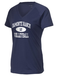 The Ladies Ultimate Performance V-Neck Damonte Ranch High School Mustangs tee is perfect for your active lifestyle.  The V-neck performance t-shirt is made with moisture wicking fabric and has a soft, cotton-like feel. This layerable Damonte Ranch High School Mustangs V-neck tee is sure to become a favorite on and off the court.