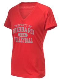 The Ladies Ultimate Performance V-Neck Hubbard High School Greyhounds tee is perfect for your active lifestyle.  The V-neck performance t-shirt is made with moisture wicking fabric and has a soft, cotton-like feel. This layerable Hubbard High School Greyhounds V-neck tee is sure to become a favorite on and off the court.