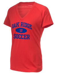 The Ladies Ultimate Performance V-Neck Oak Ridge High School War Eagles tee is perfect for your active lifestyle.  The V-neck performance t-shirt is made with moisture wicking fabric and has a soft, cotton-like feel. This layerable Oak Ridge High School War Eagles V-neck tee is sure to become a favorite on and off the court.