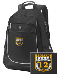 A go-anywhere Mobile Christian School Leopards backpack design in a streamlined size that's engineered to hold all the essentials in place. Convenient dual-side mesh water bottle pockets, and front pocket with organizer panel. Great for Mobile Christian School Leopards fan gear.
