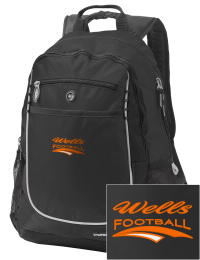 A go-anywhere Wells High School Leopards backpack design in a streamlined size that's engineered to hold all the essentials in place. Convenient dual-side mesh water bottle pockets, and front pocket with organizer panel. Great for Wells High School Leopards fan gear.