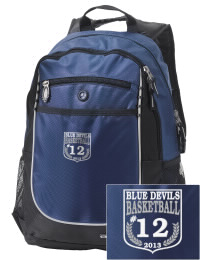 A go-anywhere Gallia Academy High School Blue Devils backpack design in a streamlined size that's engineered to hold all the essentials in place. Convenient dual-side mesh water bottle pockets, and front pocket with organizer panel. Great for Gallia Academy High School Blue Devils fan gear.