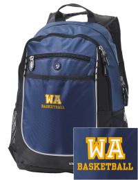 A go-anywhere Western Albemarle High School Warriors backpack design in a streamlined size that's engineered to hold all the essentials in place. Convenient dual-side mesh water bottle pockets, and front pocket with organizer panel. Great for Western Albemarle High School Warriors fan gear.