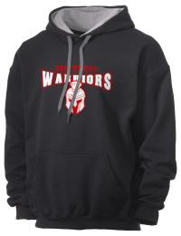 Granite City High School Warriors Gildan Men's 7.75 oz Contrast Hooded Sweatshirt