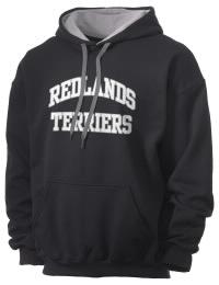 Redlands High School Terriers Gildan Men's 7.75 oz Contrast Hooded Sweatshirt