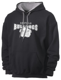 Garfield High School Bulldogs Gildan Men's 7.75 oz Contrast Hooded Sweatshirt