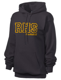 Crafted for comfort, this lighter weight embroidered Rockmart High School Yellow Jackets hooded sweatshirt is perfect for relaxing.  A must have hoody for the serious Rockmart High School Yellow Jackets apparel and merchandise collection. 50/50 cotton/poly fleece hoodie with two-ply hood, dyed-to-match drawcord, set-in sleeves, and front pouch pocket round out the features of a Yellow Jackets hooded sweatshirt.