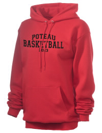 Crafted for comfort, this lighter weight embroidered Poteau High School Pirates hooded sweatshirt is perfect for relaxing.  A must have hoody for the serious Poteau High School Pirates apparel and merchandise collection. 50/50 cotton/poly fleece hoodie with two-ply hood, dyed-to-match drawcord, set-in sleeves, and front pouch pocket round out the features of a Pirates hooded sweatshirt.