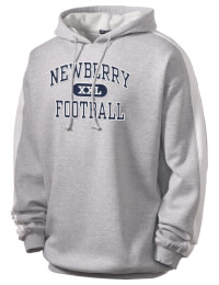 Get a little two-tone style with this custom tackle twill Newberry High School Bulldogs hoodie. It's colorfast so it will look sharp wash after wash, and it resists shrinking so it will keep its roomy fit. The sleeve stripe helps it stand apart from the rest of the hoodies in the crowd.