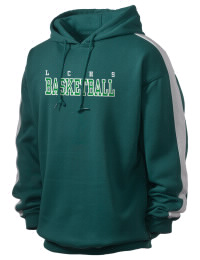 Get a little two-tone style with this custom tackle twill Lake County High School Falcons hoodie. It's colorfast so it will look sharp wash after wash, and it resists shrinking so it will keep its roomy fit. The sleeve stripe helps it stand apart from the rest of the hoodies in the crowd.