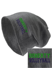 On the street or on the slopes, stay warm and look cool in this Doherty High School Spartans knit hat. An acyrlic/polyester blend beanie with a snug yet slouchy fit. Embroidery will not be on center front, but off centered to the left.