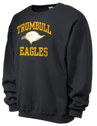 Trumbull High School Eagles JERZEES Unisex NuBlend® 8oz Crewneck Sweatshirt