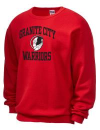 Granite City High School Warriors JERZEES Unisex NuBlend® 8oz Crewneck Sweatshirt