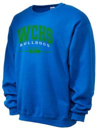 Winston Churchill High School Bulldogs JERZEES Unisex NuBlend® 8oz Crewneck Sweatshirt