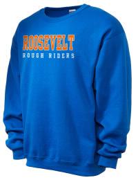 Theodore Roosevelt Senior High School Rough Riders JERZEES Unisex NuBlend® 8oz Crewneck Sweatshirt