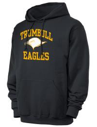 Trumbull High School Eagles JERZEES Unisex 8oz NuBlend® Hooded Sweatshirt