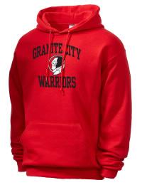 Granite City High School Warriors JERZEES Unisex 8oz NuBlend® Hooded Sweatshirt