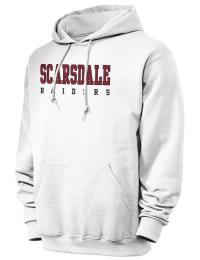 Scarsdale High School Raiders JERZEES Unisex 8oz NuBlend® Hooded Sweatshirt