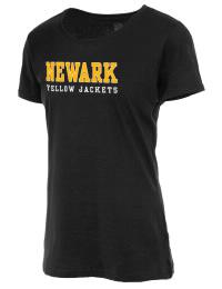 Newark High School Yellow Jackets Fruit of the Loom Women's 5oz Cotton T-Shirt