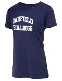 Garfield High School Bulldogs Fruit of the Loom Women's 5oz Cotton T-Shirt