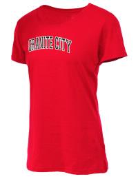 Granite City High School Warriors Fruit of the Loom Women's 5oz Cotton T-Shirt
