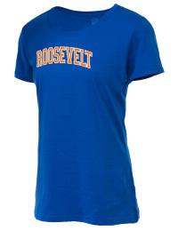Theodore Roosevelt Senior High School Rough Riders Fruit of the Loom Women's 5oz Cotton T-Shirt