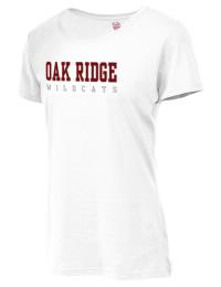 Oak Ridge High School Wildcats Fruit of the Loom Women's 5oz Cotton T-Shirt