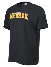Newark High School Yellow Jackets Fruit of the Loom Men's 5oz Cotton T-Shirt