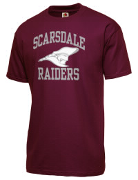 Scarsdale High School Raiders Fruit of the Loom Men's 5oz Cotton T-Shirt