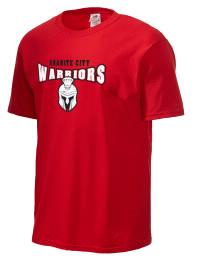 Granite City High School Warriors Fruit of the Loom Men's 5oz Cotton T-Shirt
