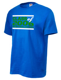 Winston Churchill High School Bulldogs Fruit of the Loom Men's 5oz Cotton T-Shirt