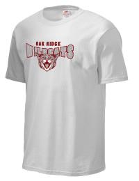 Oak Ridge High School Wildcats Fruit of the Loom Men's 5oz Cotton T-Shirt