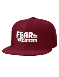 Pensacola High School Tigers Embroidered Wool Blend Flat Bill Pro-Style Snapback Cap
