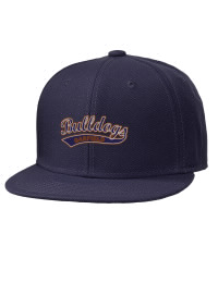 Garfield High School Bulldogs Embroidered Wool Blend Flat Bill Pro-Style Snapback Cap
