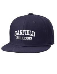 Garfield High School Bulldogs Embroidered Wool Blend Flat Bill Pro-Style Snapback Cap