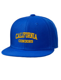 California High School Condors Embroidered Wool Blend Flat Bill Pro-Style Snapback Cap