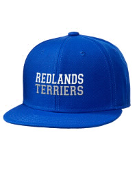 Redlands High School Terriers Embroidered Wool Blend Flat Bill Pro-Style Snapback Cap
