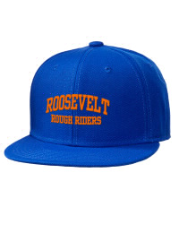 Theodore Roosevelt Senior High School Rough Riders Embroidered Wool Blend Flat Bill Pro-Style Snapback Cap