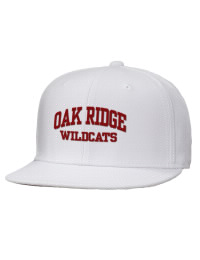 Oak Ridge High School Wildcats Embroidered Wool Blend Flat Bill Pro-Style Snapback Cap