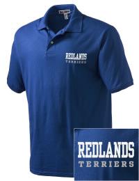 Redlands High School Terriers Embroidered JERZEES Men's SpotShield? Jersey Polo Shirt