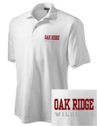 Oak Ridge High School Wildcats Embroidered JERZEES Men's SpotShield? Jersey Polo Shirt
