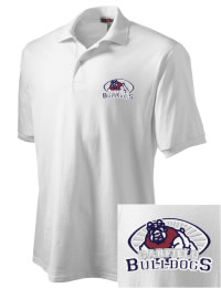Garfield High School Bulldogs Embroidered JERZEES Men's SpotShield? Jersey Polo Shirt
