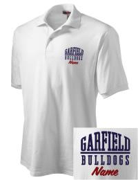 Garfield High School Bulldogs Embroidered JERZEES Men's SpotShield? Jersey Polo Shirt
